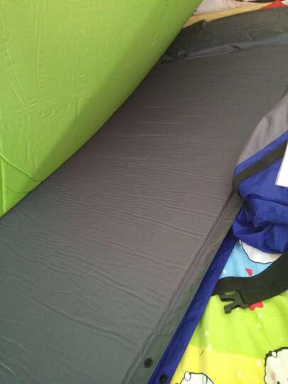 自游人TrackMan  孔雀草防潮垫  帐篷充气垫 气垫床帐篷垫子充气床隔潮垫 厚款 樱草绿 190*132*3CM 晒单图