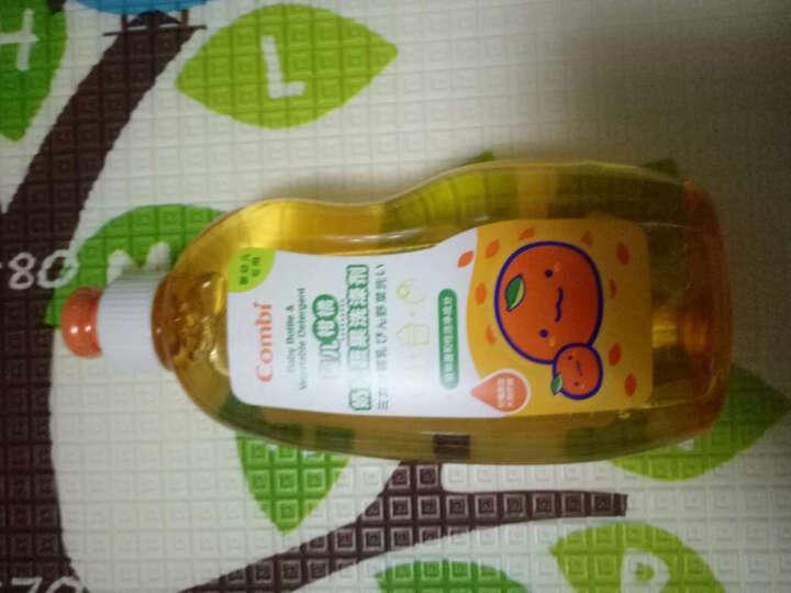 康贝(Combi)婴儿柑橘奶瓶蔬果洗涤剂 290ml 晒单图