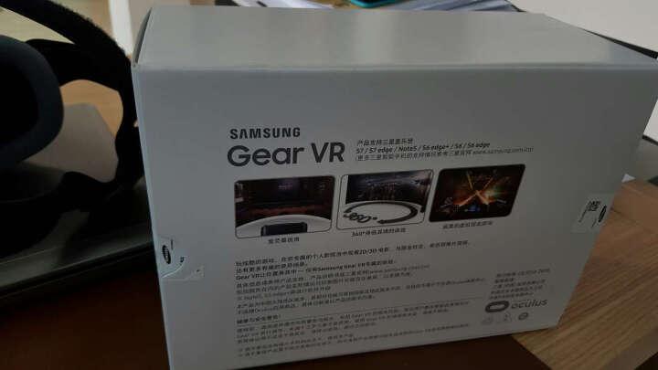 三星原装Gear VR眼镜 Oculus 3D头盔 s9/s8/s7edge 蓝黑色 晒单图