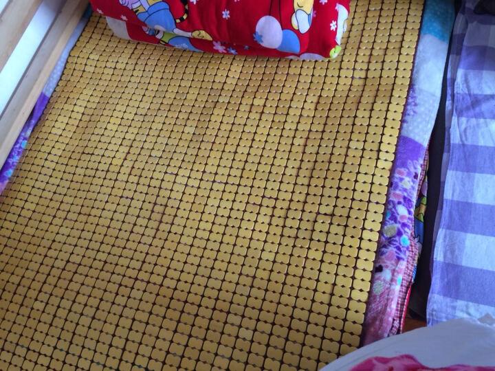 正帆夏季麻将竹席垫凉席碳化麻将床席单双人1.5米1.8m学生竹席子可定制定做 本色双牛筋宽边包边无包底 2.0m(6.6英尺)床=2.0*2.0m 晒单图