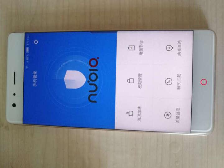 努比亚nubia Z17 无边框 旭日金 6GB+64GB 全网通 移动联通电信4G手机 双卡双待 晒单图