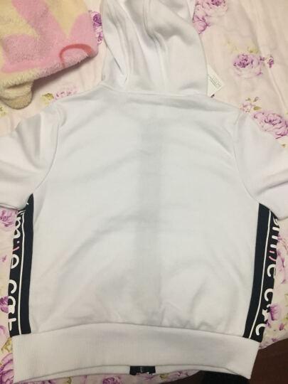 巴拉巴拉(BALABALA)童装女童套装中大童女孩儿童长袖两件套女28041170102漂白160 晒单图