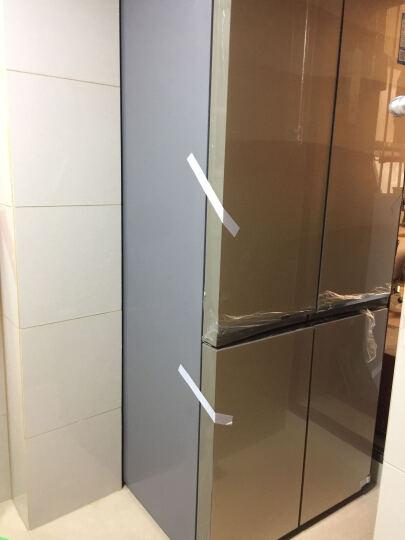 美的(Midea)凡帝罗BCD-530WGPZV 智能变频玻璃四门十字对开门冰箱(格调金) 晒单图