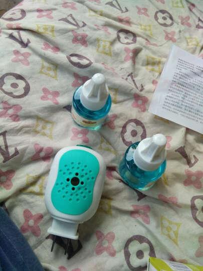 婴才婴儿驱蚊液 4瓶驱蚊水+2个加热器 无味电热蚊香液套装儿童宝宝专用蚊香液 晒单图