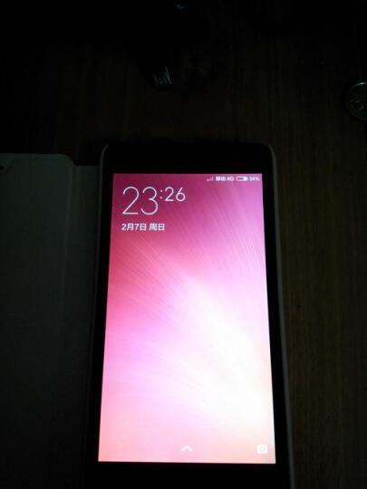 小米(MI)红米2A 4G手机 双卡双待 移动4G增强版 白色 8G内存 晒单图