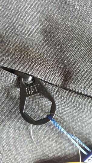 CAT/卡特双肩包男士极简都市设计背包休闲商务笔记本15.6英寸电脑包旅行运动学生书包 烟灰 晒单图