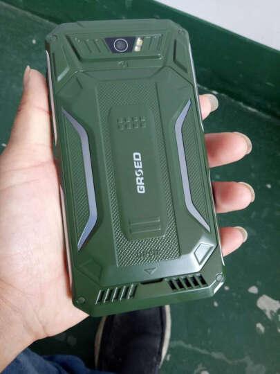 亚奥星E6000 全网通4G 三防智能手机 电霸超长待机老人手机 双卡双待 军绿色 晒单图