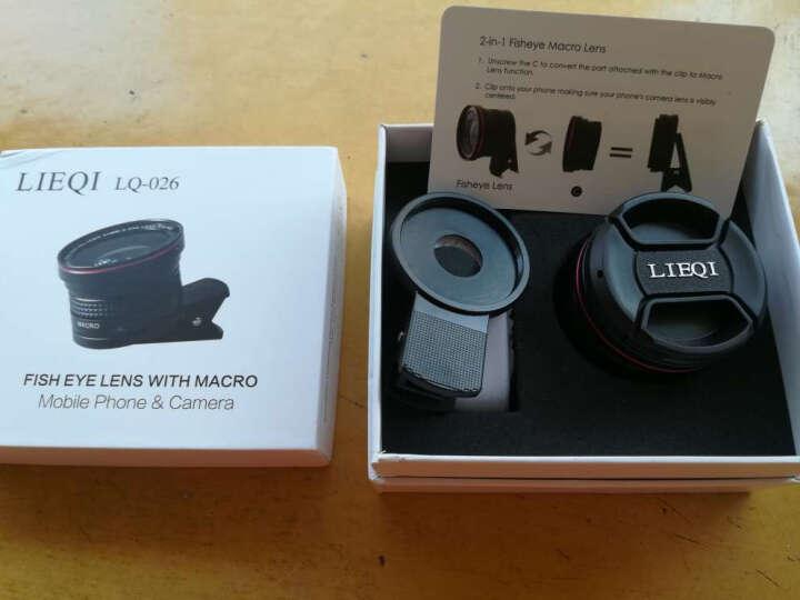 猎奇(LIEQI) LQ-026 手机镜头 鱼眼微距二合一套装 苹果华为外置摄像头 黑色 晒单图