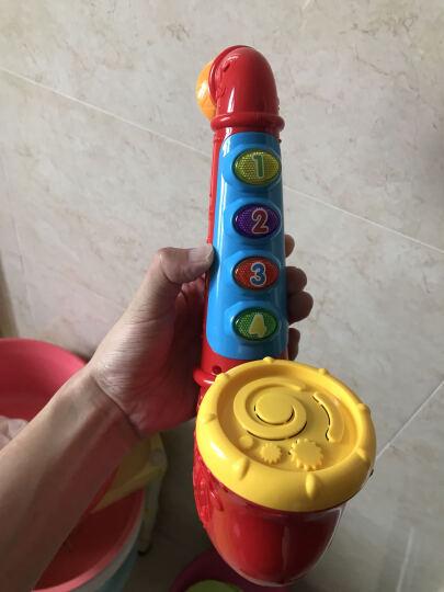 澳贝(AUBY ) 儿童益智玩具 带音乐乐器 炫酷玩具音乐萨克斯(18+)463812DS 晒单图