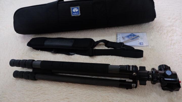 思锐(SIRUI)三脚架 R1204+G10KX 碳纤维含云台佳能尼康单反相机三角架 单反相机三脚架 专业稳定 微单通用 晒单图