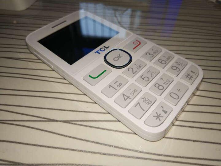 TCL 121  移动联通2G老人手机   双卡双待 白色 晒单图