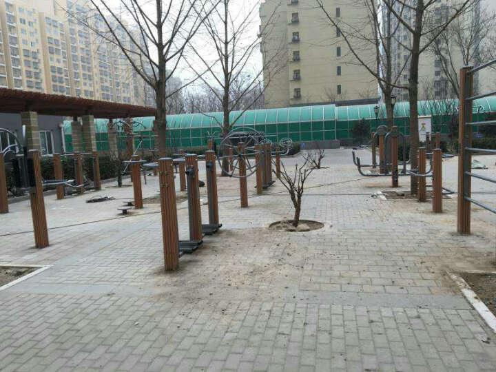 强盟室外健身器材 新国家标准高端塑木健身器材 小区社区广场公园户外健身器材路径 腿部按摩器(QMTS-7) 晒单图