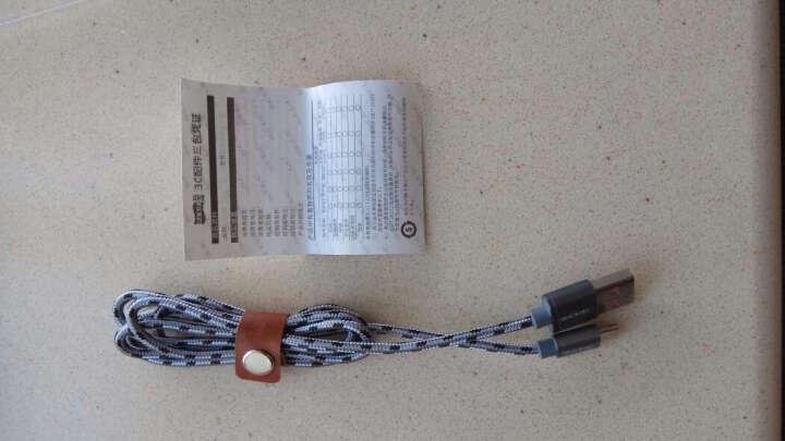 飞毛腿 SJ-GM06 Micro USB安卓数据线/充电线 适于三星/华为/HTC/中兴/小米/红米 1米 深空灰 晒单图
