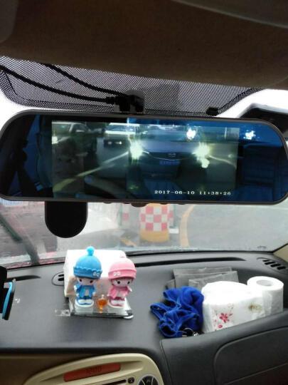 ?凌度 智能行车记录仪 高清夜视 前后双镜头倒车影像车载后视镜导航 电子狗预警测速仪一体机 4G云镜 8吋监控版双镜头+电子狗+32G(套餐五) 晒单图