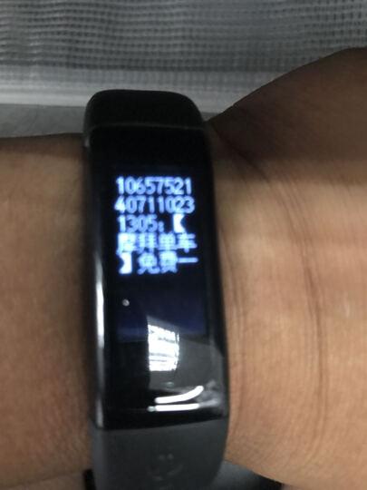 DFyou智能手环苹果三星小米男女手表运动手环计步器健康检测ios小米安卓系统 睿智黑 晒单图