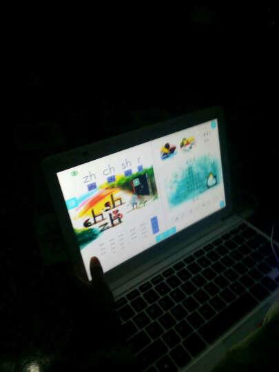 UnisCom Q7000学习机11.6英寸学生电脑 小学初中同步点读机平板电脑 标配+8G内存卡+电脑包 晒单图