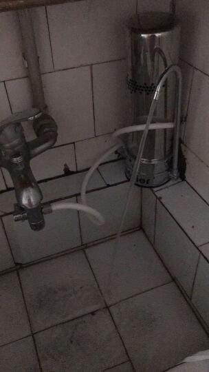 【秒杀 1机含3芯】海尔净水器HT101-2家用厨房自来水过滤器水龙头过滤器净水机 晒单图