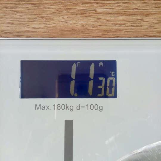 【京东配送】Meilen称重电子秤人体秤体重秤家用精准电子称健康秤 标准版白色 晒单图