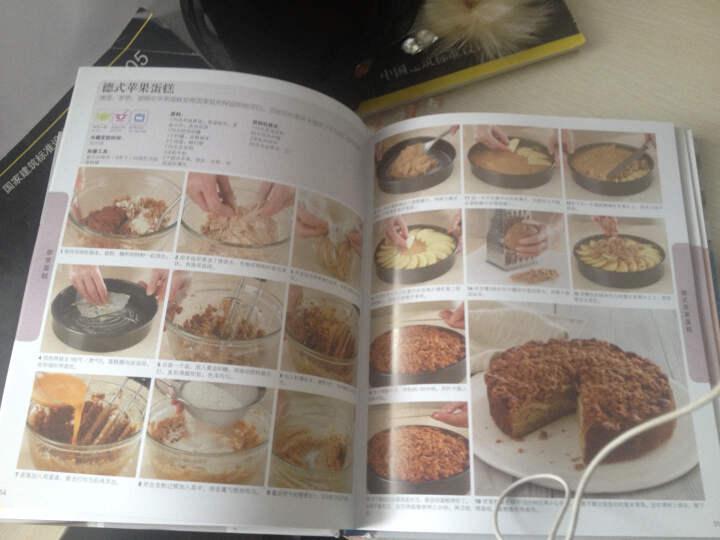 风靡蛋糕的欧式全球烘焙教科书--很棒的烘焙书手把手的学v蛋糕图片