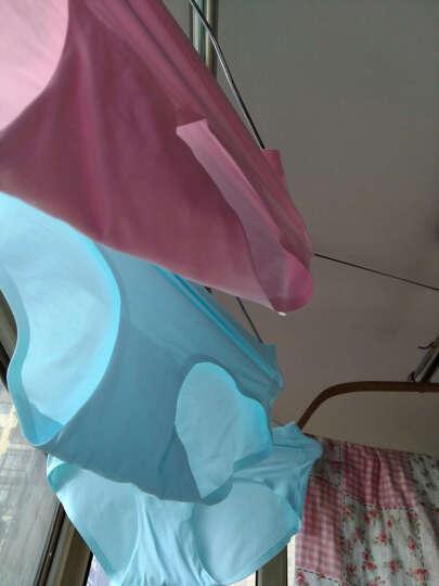 美雅挺 3条装女士内裤女无痕纯棉底裆性感女内裤中腰 浅咖+浅灰+薄荷绿 XL (腰围2尺0-2尺3) 晒单图