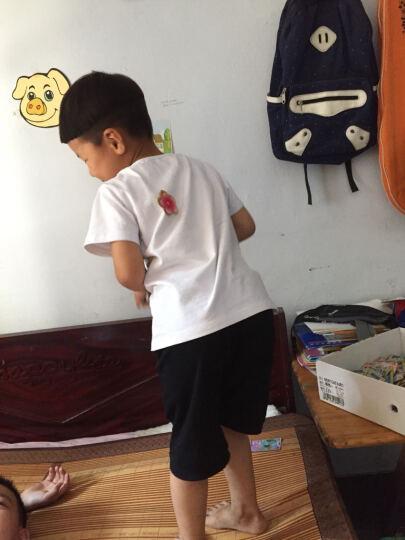 道琪安0-11岁儿童套装两件套男女同款宝宝短袖童装夏季套装 幼儿园园服 小学班服 校服 白衣+红裤. 100cm(90-100cm(不变形)) 晒单图