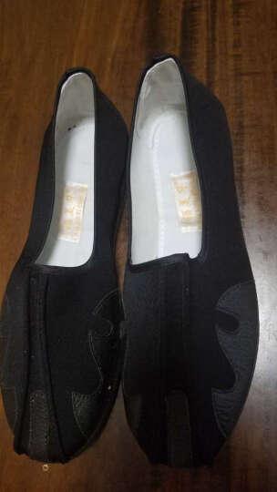 老北京布鞋复古手工洒鞋传统云头舒适休闲鞋CCJSM2734 黑色 41 晒单图