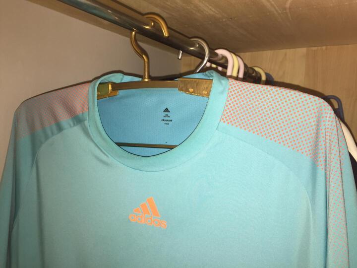艾尚居(ASJ) 衣架铝合金衣架子宽肩伸缩无痕防滑多功能铝衣撑 香槟色伸缩衣架A03013C 10个 晒单图