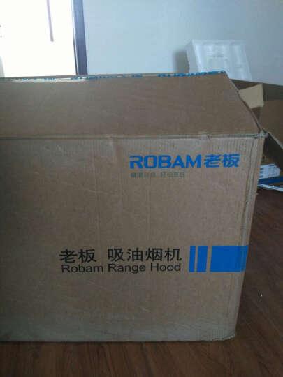 老板(Robam)18立方欧式大吸力抽油烟机燃气灶具套装66A1+58G6 晒单图