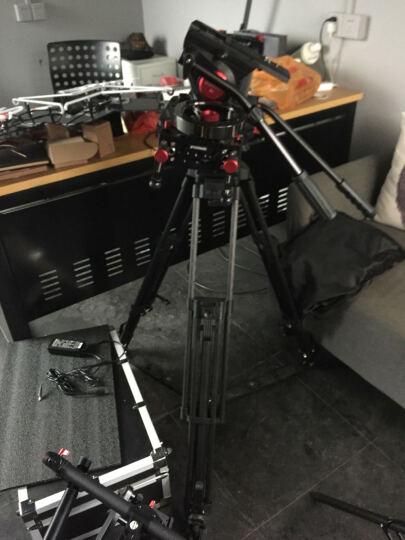 图瑞斯 TX-V12T PLUS三脚架套装 专业摄像机V12t碳纤维三脚架 液压阻尼云台 图瑞斯V12T+风车矮脚+地锅 晒单图
