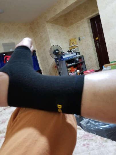 NBA 篮球护腕(2只装)毛圈跑步健身吸汗擦汗运动护腕 弹力精梳棉透气型羽毛球护手腕 黑色N5XW1001M-G 均码 晒单图