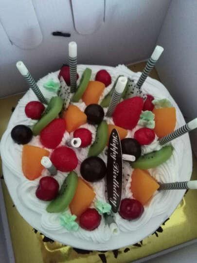 绿曲蛋糕 生日蛋糕同城配送 巧克力生日蛋糕全国配送北京上海广州深圳天津成都西安 花样年华 18寸 晒单图