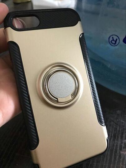 优内特 苹果7手机壳iPhone7 plus保护套苹果8硅胶防摔男女款8P全包软壳指环支架 4.7寸--苹果7/8香槟金 晒单图
