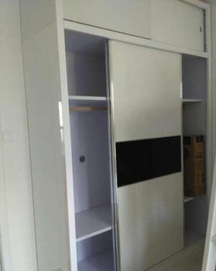 欧尚杰(oushangjie)衣柜 现代卧室双门推拉大衣橱 1.6米衣柜 晒单图