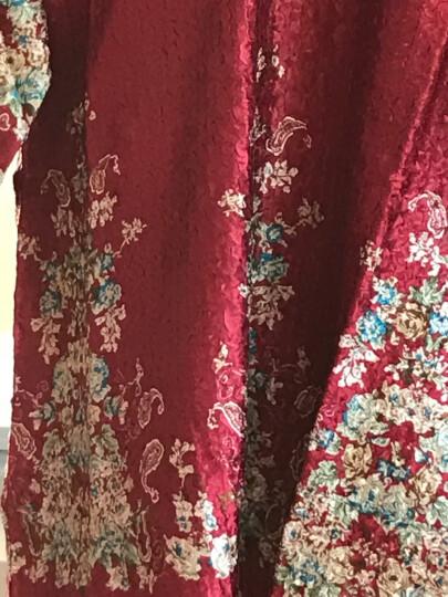 凤九 新款中老年女装婚宴结婚参加婚礼妈妈装春夏装礼服真丝连衣裙唐装风衣 短袖红色 XL建议95-110斤 晒单图
