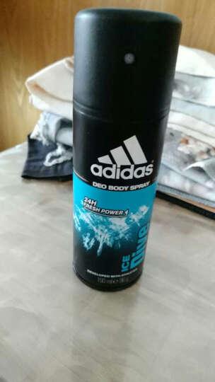 阿迪达斯(Adidas) 【海外进口】阿迪达斯Adidas 男士运动香体喷雾除臭止汗剂 预备喷雾150ml 晒单图