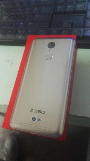 【套装版】360手机 N5 全网通 6GB+64GB 流光金 移动联通电信4G手机 双卡双待 晒单图