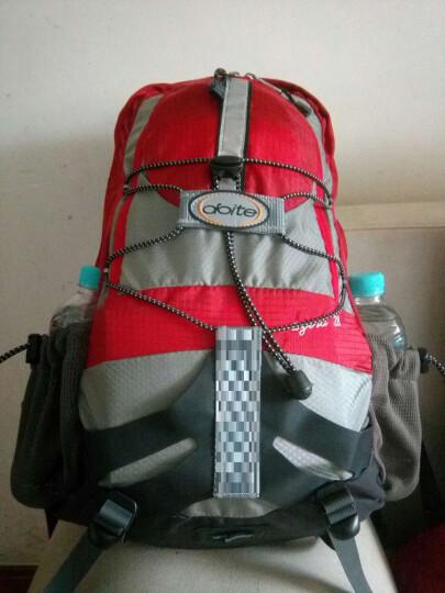 DOiTe 多伊特Doite登山包户外骑行背包旅行包男女款自行车骑行双肩包 6847灰/ 红28L 晒单图