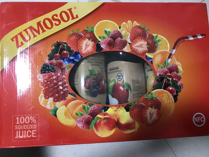 西班牙进口 尚美优选(Zumosol)葡萄覆盆子黑莓石榴原榨混合 850ml 非浓缩还原NFC果汁果味饮料 晒单图