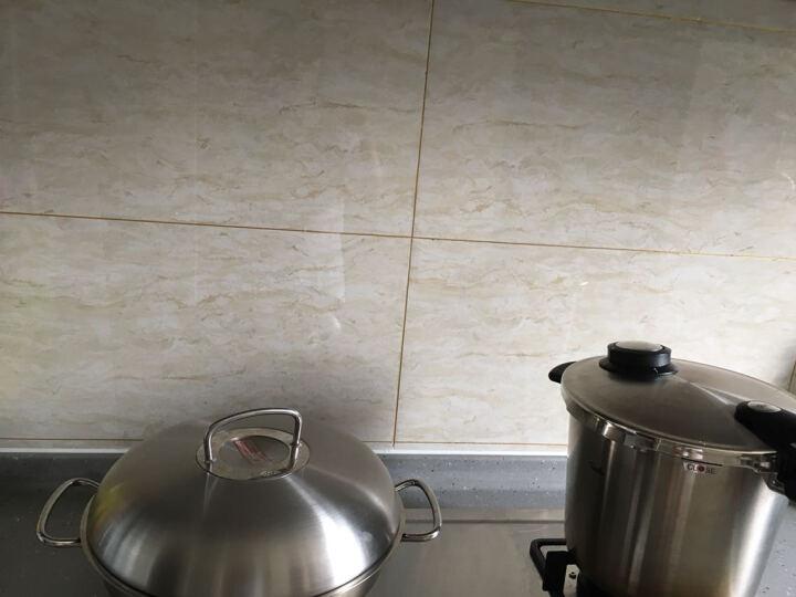 日本进口厨房防油贴纸 大号自粘透明瓷砖贴吸油烟机防油贴灶台贴 锡纸(45x90) 晒单图