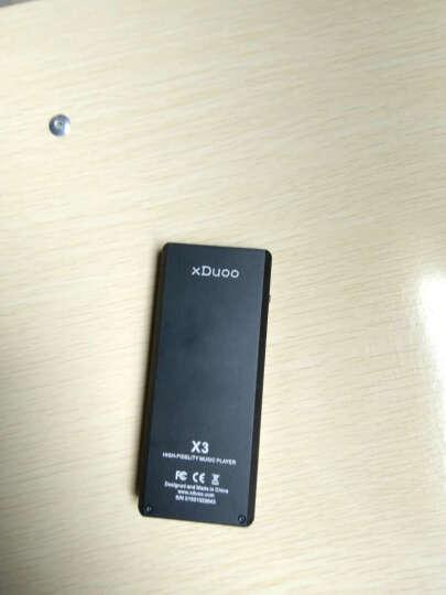 乂度(XDUOO)X3 无损音乐播放器 DSD HIFI发烧 MP3 黑色 晒单图