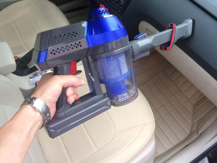 泰怡凯(TEK)吸尘器 家用小型无线手持吸尘器 AK47-LB 晒单图