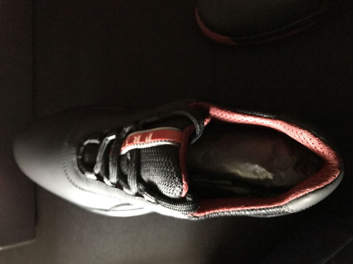 PRADA 普拉达 男士白色灰色织物橡胶皮革拼接时尚运动鞋 4E2905 1O1G F0FXT 7/41 F ZFT0 晒单图