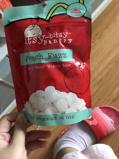 意贝草莓酸乳溶豆新西兰进口14g 6个月以上婴幼儿初期零食糖果泡芙水果果泥溶溶豆豆食品 晒单图