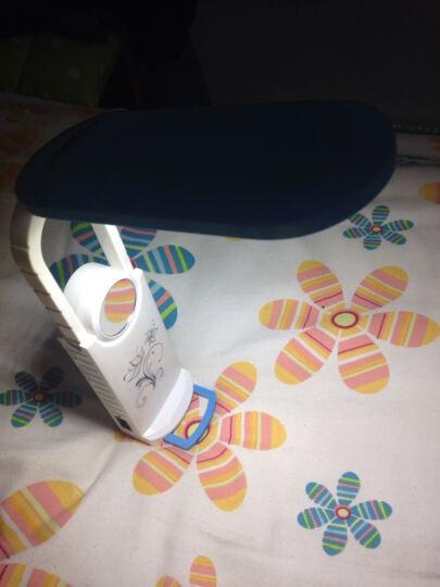 久量DP充电台灯led灯学习台灯床头阅读灯 112蓝粉色随机发货带化妆镜 晒单图