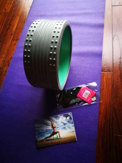 爱活力按摩瑜伽轮达摩轮后弯 普拉提瑜伽圈倒立铺助器健身器 星空紫+使用手册 晒单图