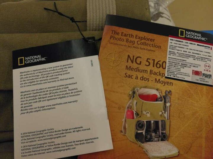 国家地理(National Geographic)NG 2344 相机包 摄影包 单肩/斜跨 地球探索者系列 时尚通勤 晒单图