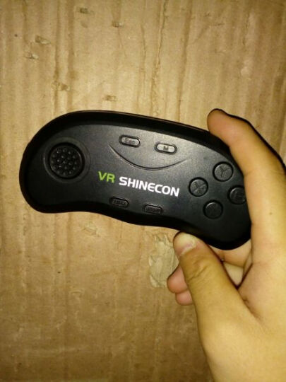 MOCUTE VR蓝牙游戏手柄 无线手机vr视频控制器遥控器安卓ios手机都兼容王者荣耀 灰色 晒单图