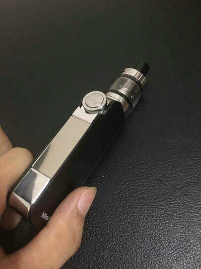【70W超大烟雾】sickle S40电子烟 送烟油 大功率 套装 正品水烟蒸汽烟戒烟产品 银色 晒单图