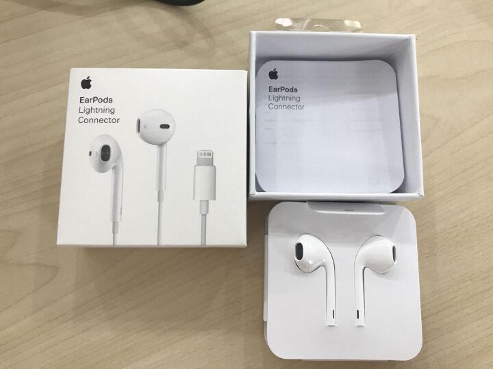 苹果iPhone7原装耳机Lightning接头手机耳机 EarPods plus线控耳机 晒单图