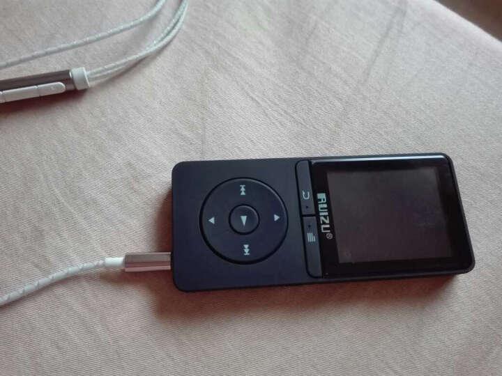 锐族(RUIZU)X20 8G 黑色 外放支持线控无损音质MP3/MP4 晒单图